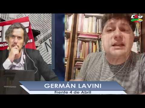 Germán Lavini: A la mayoría de los docentes no les alcanza para vivir