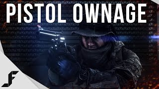 PISTOL OWNAGE! - Battlefield 4