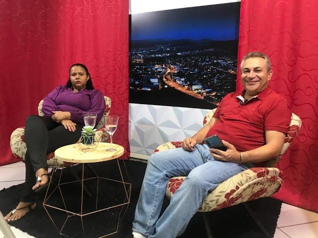 Fábio Sacramento entrevista rosa da anjos de patas