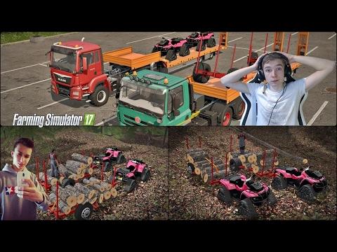 MISJA SPECJALNA ! Zbieramy opał do chlewni ! Farming Simulator 2017 z Preze$Bernat !