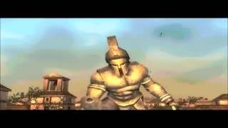 Spartan Total Warrior - HD Gamecube - Gameplay (Dolphin)