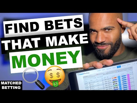 HOW TO USE THE ODDSMATCHER? | Best Matched Betting Tool / Software