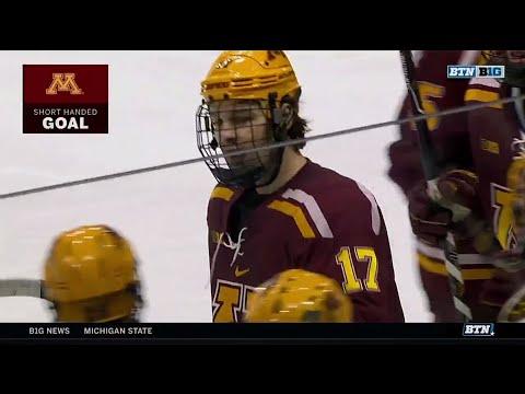 Gopher Hockey 5, Michigan State 4: Big Ten Network Breakdown