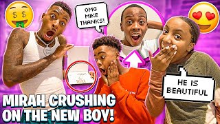I SURPRISED BAM WITH A CUSTOM CHAIN & MIRAH CRUSHING ON THE NEW BOY!!❤️