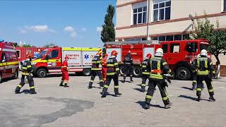 Romanian Firefighters accepted Jerusalema Dance Challenge