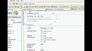 Add RSS feeds to Bloglines