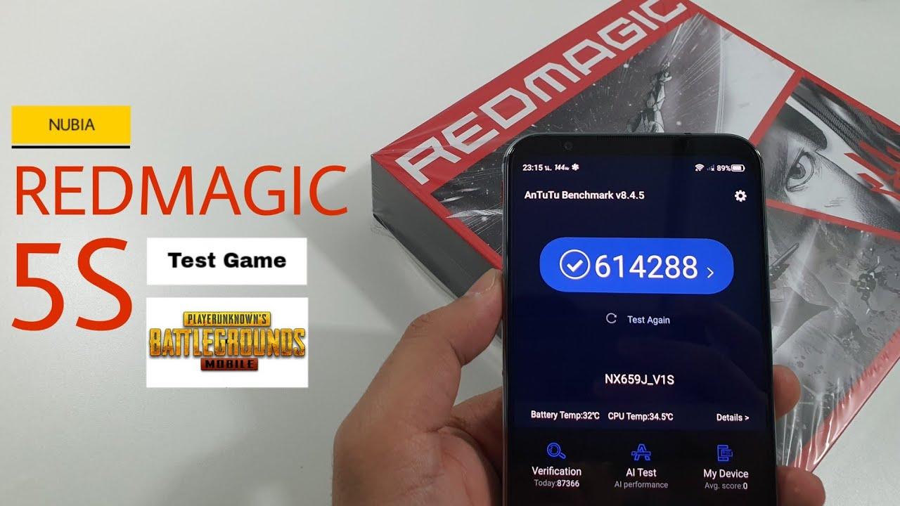 Nubia REDMAGIC 5S TestGame Pubg Mobile | คะแนนขนาดนี้! จะเล่นได้ขนาดไหน?