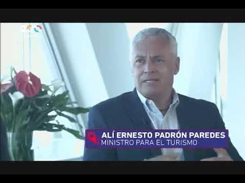 Ministro de Turismo de Venezuela Alí Padrón, entrevistado en Aquí con Ernesto Villegas