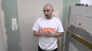 видео покраска потолка из гипсокартона
