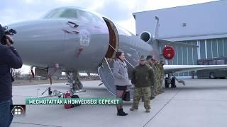 Megmutatták a sajtónak a katonai szállítógépeket 20-02-27