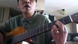 tu học guitar: ngày đầu tiên đi học- chủ âm D