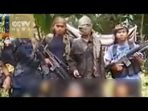 Philippine militants releases video of hostages