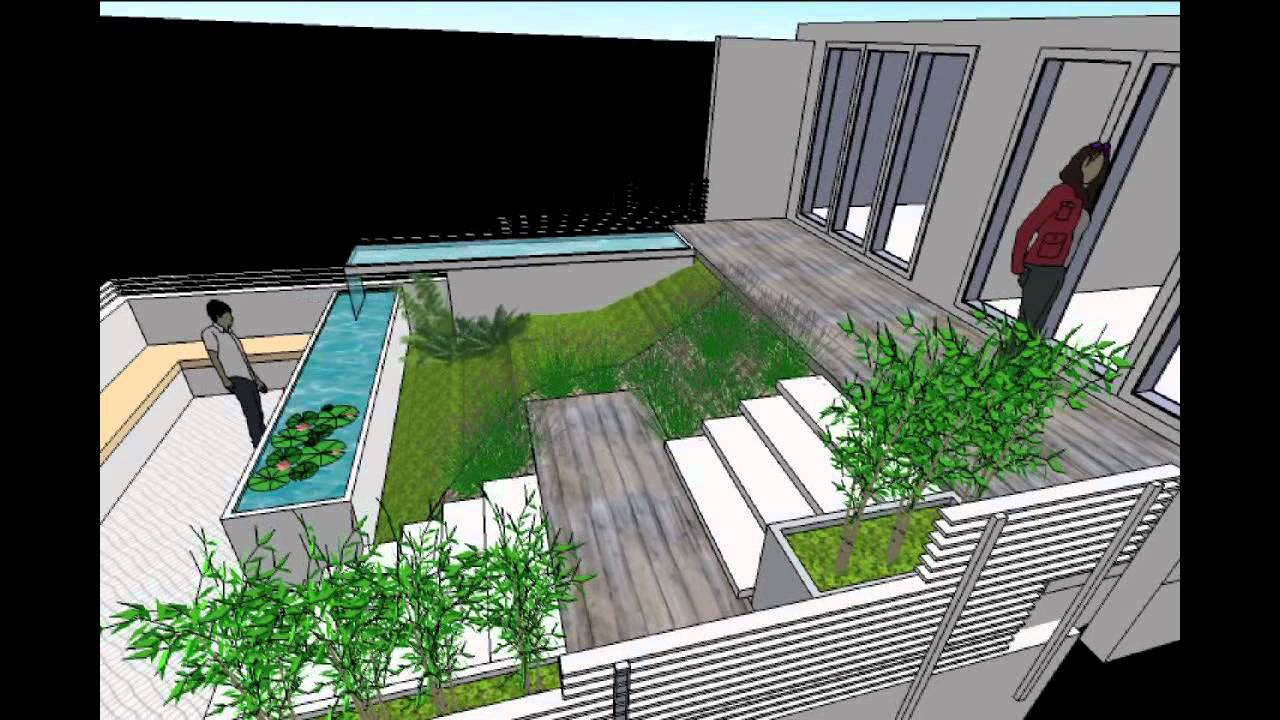 Gunn design landscape architecture terraced courtyard for Gunn design landscape architecture christchurch