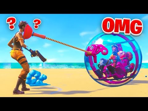 Fortnite added a HAMSTER BALL?! thumbnail