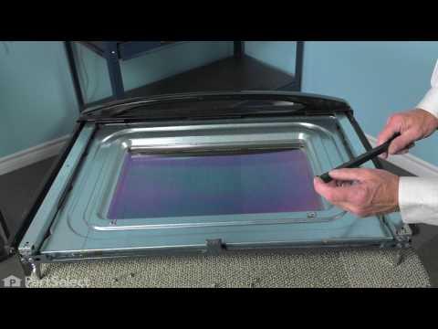Whirlpool Range/Oven Repair - How to Replace the Exterior Door Glass (Whirlpool # WPW10118455)