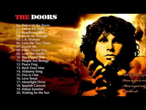 The Doors Greatest hits playlist -The Doors Collection