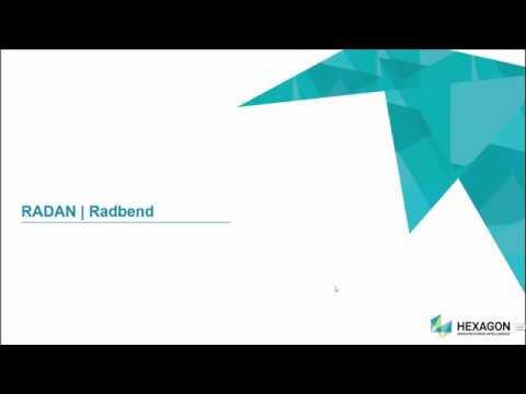 Radbend | RADAN 2020.0