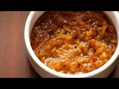 mango chutney recipe, how to make mango chutney recipe