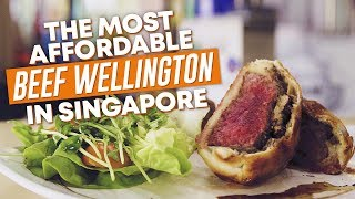 The Most Affordable $28 Beef Wellington in Singapore: Meet 4 Meat