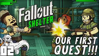 """""""THE NEW FALLOUT SHELTER QUESTS ARE AWESOME!!!"""" Fallout Shelter (iOS/Android/PC)"""