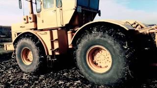 K-701,traktor,Плоскорез ,ч.2,part2!