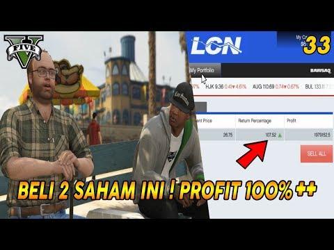 UNTUNG BESAR ! MISI GTA 5 (33) HOTEL ASSASSINATION & SAHAM YANG HARUS DIBELI   MARKET STOCK TIPS