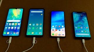 Mate 20 X vs Mi Max 3 vs Mi Mix 3 vs Pixel 3 XL - EPIC Battery Drain Test!