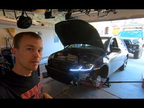VW Golf MK7 BEC Brand Light Install
