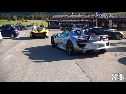 Driving Lake Garda, Onboard P1 and 918 - Alps Adventure Part 3