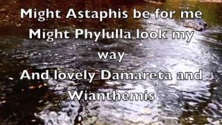 Alcman's Partheneion
