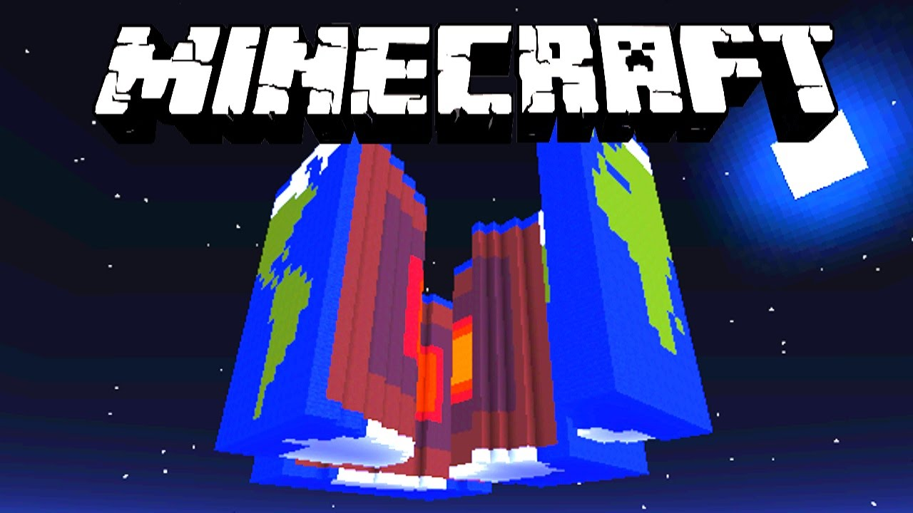 Minecraft - CRACK THE EARTH with Vikkstar & Lachlan - (Minecraft 1.8 ...