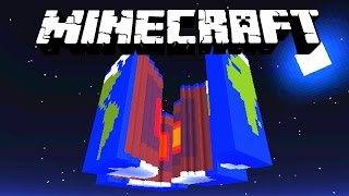 Minecraft - CRACK THE EARTH with Vikkstar & Lachlan - (Minecraft 1.8 Adventure Map)