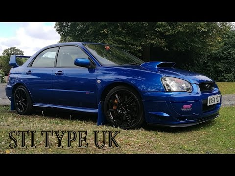 Subaru Impreza Sti Type UK review