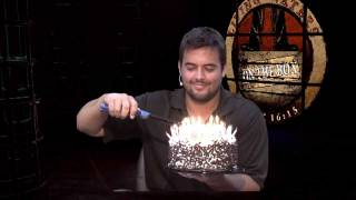 On The Box Episode 100 With Flaming Cake