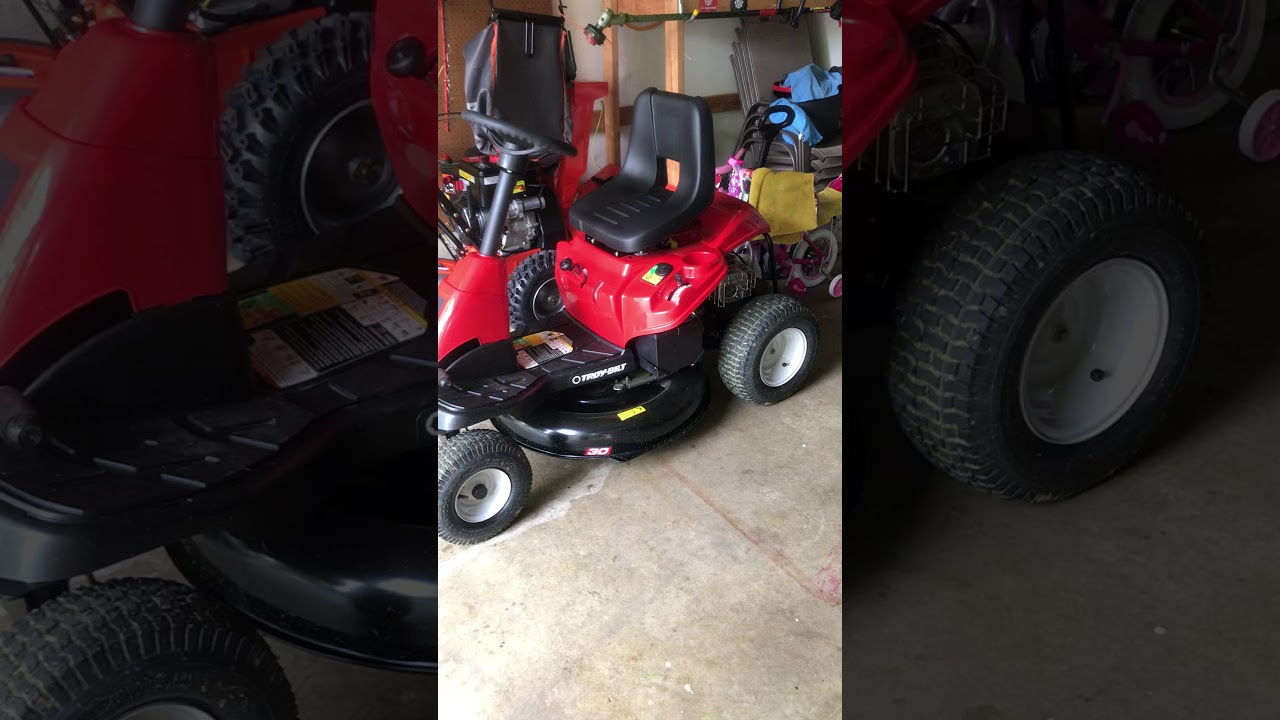 My review of the Troy Bilt TB30 R