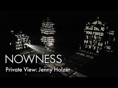 Private View: Jenny Holzer at Blenheim Palace