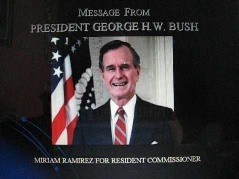 President George H. W. Bush -  About Miriam J Ramirez MD
