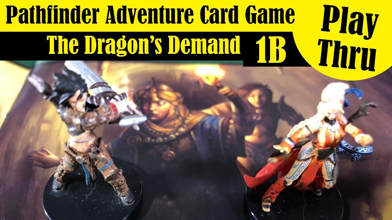 Pathfinder Adventure Card Game - Playthrough - 1B The Blood Vow