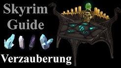 Skyrim Guide - Verzauberung (die stärksten Waffen & Verzaubern leveln & Seelensteine)