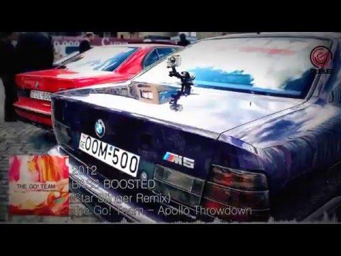 The Go! Team - Apollo Throwdown (Star Slinger Remix) (BASS BOOSTED)