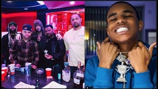 J Prince Links W/ French Montana,Goes Face To Face With NY Goons & Gets YBN Almighty Jay Chain Back