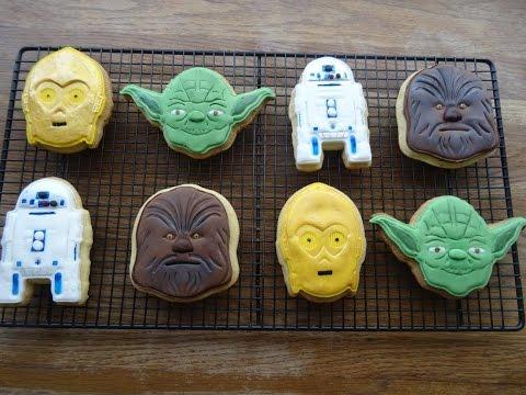 Butter Cookies (Star Wars Cookies).....how to