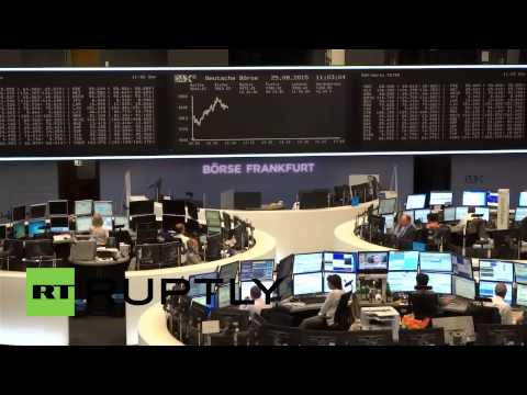 Germany: Frankfurt Stock Exchange recovers after 'Black Monday' panic