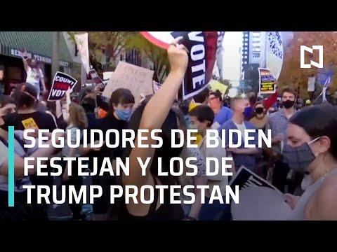 Biden dice que Trump no debería reclamar injustamente la presidencia - En Punto