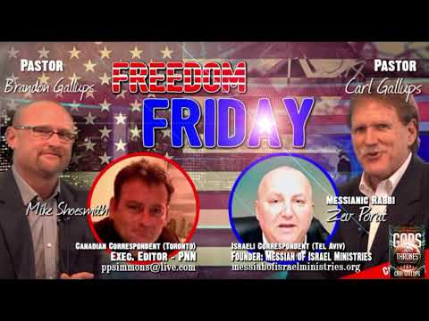 THESE ARE PROPHETIC TIMES! Messianic Rabbi Zev Porat on Freedom Friday!
