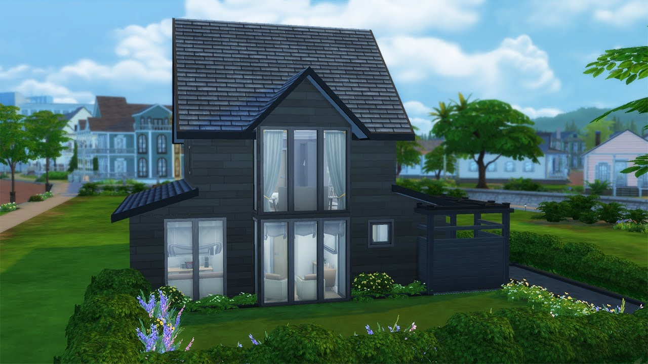 Small Family Home Speed Build The Sims 4 NO CC YouTube