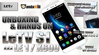LeTV S1/X600 (Unboxing & Hands on) MT6795 Helio X10, USB Type-C, 4K Rec, 3GB RAM, Full HD, IR Remote