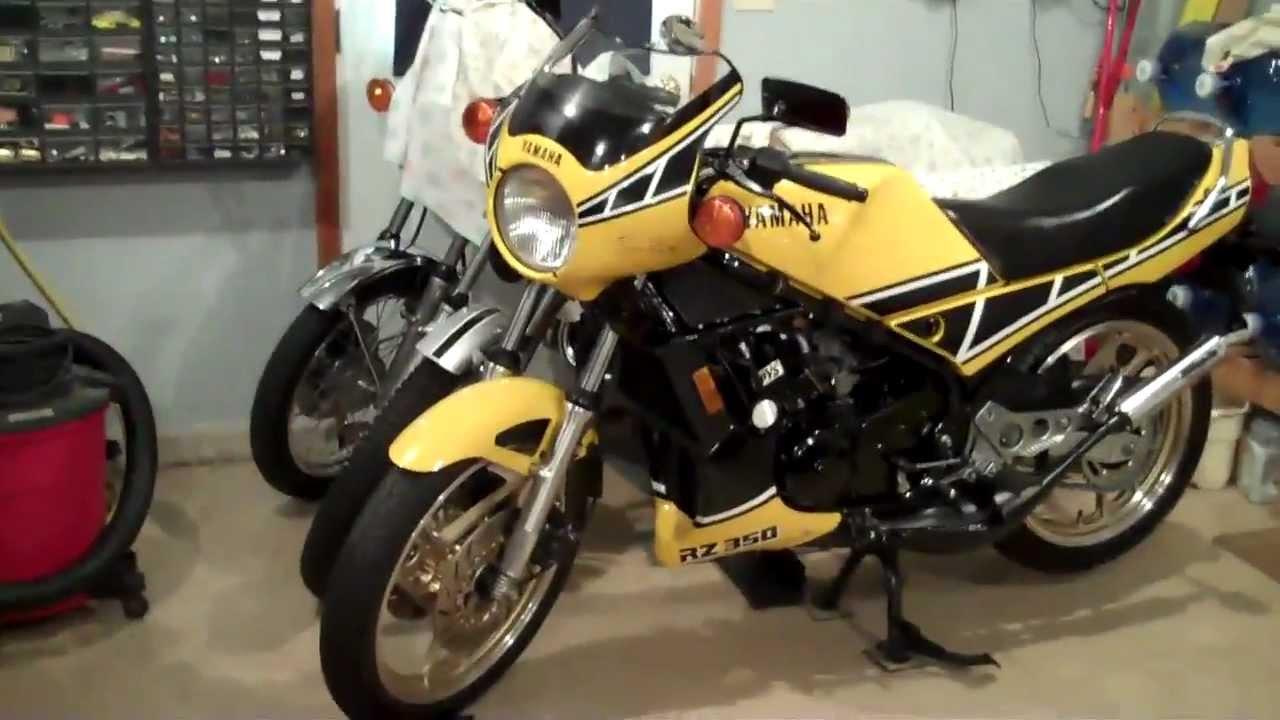 1984 Yamaha rz350