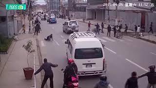 Kameraya Yansıyan Deprem Anları