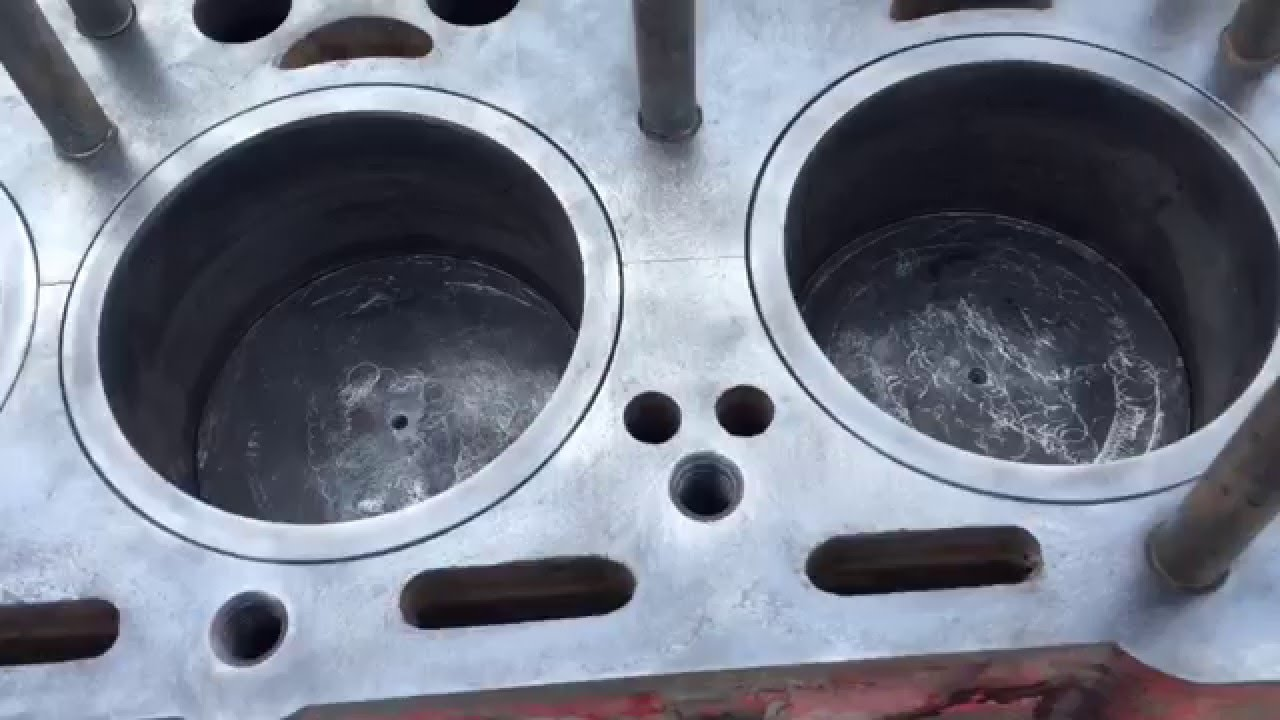 How to fix a cracked block - Continental Engine Block Crack